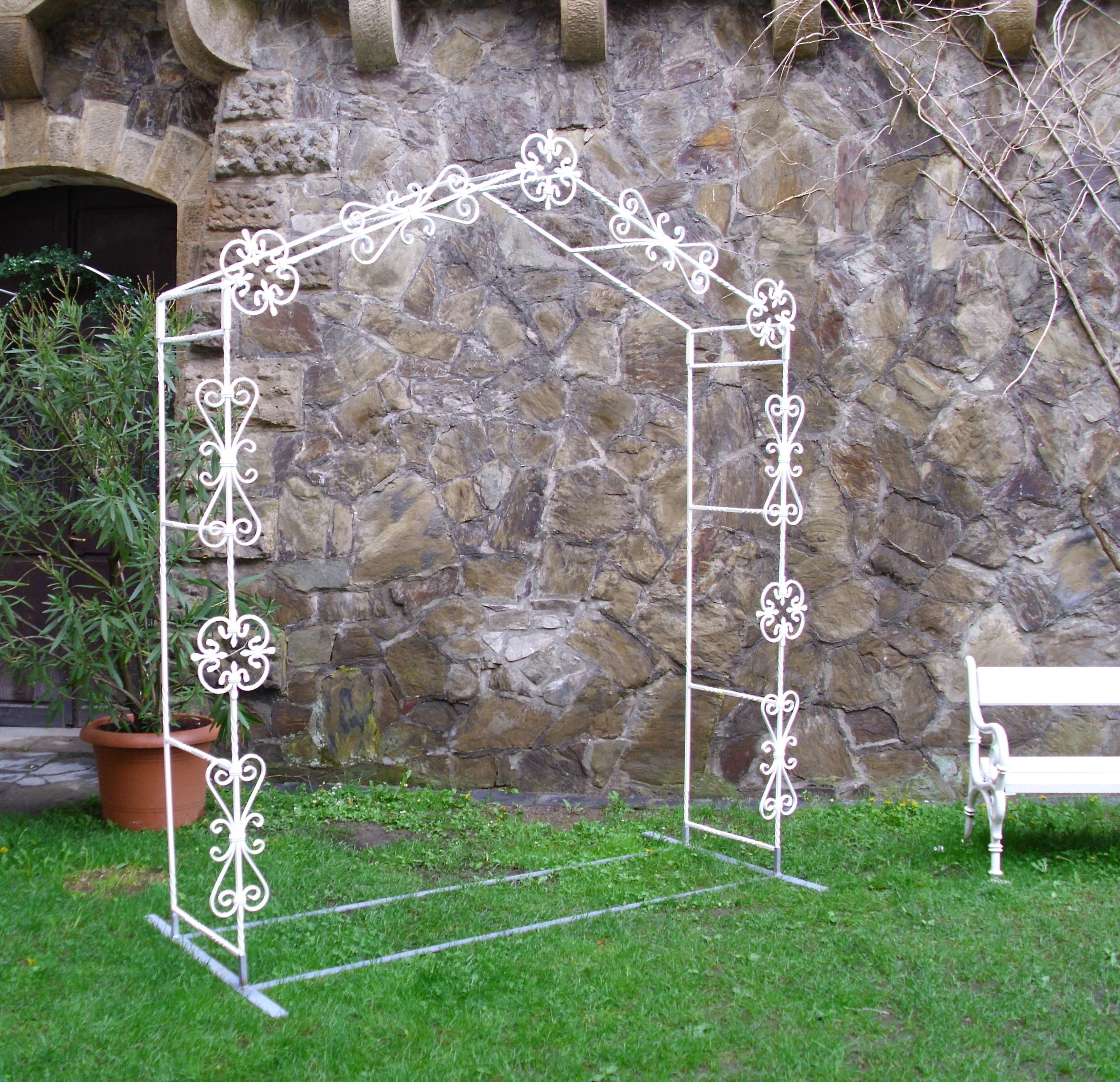 Svatební brána ROMANCE bez dekorace
